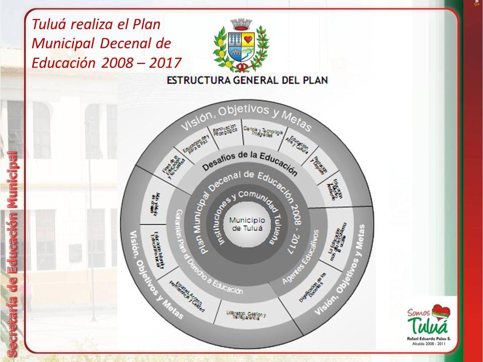 Tuluá realiza el Plan Municipal Decenal de Educación 2008 – 2017