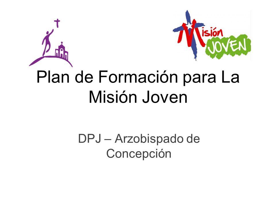 Plan de Formación para La Misión Joven