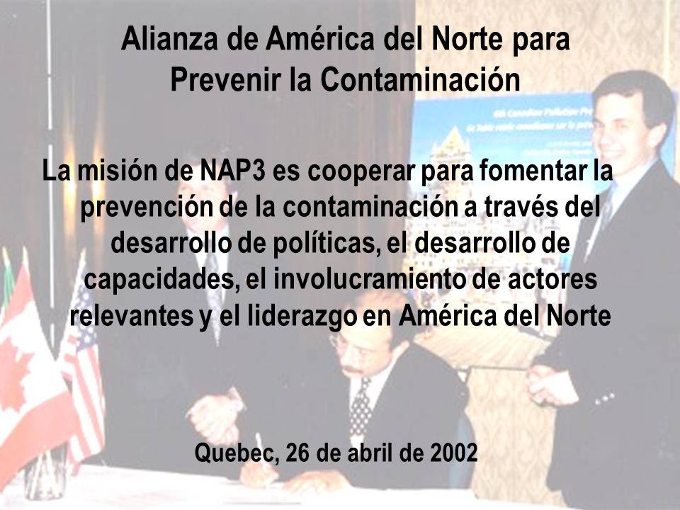 Alianza de América del Norte para Prevenir la Contaminación