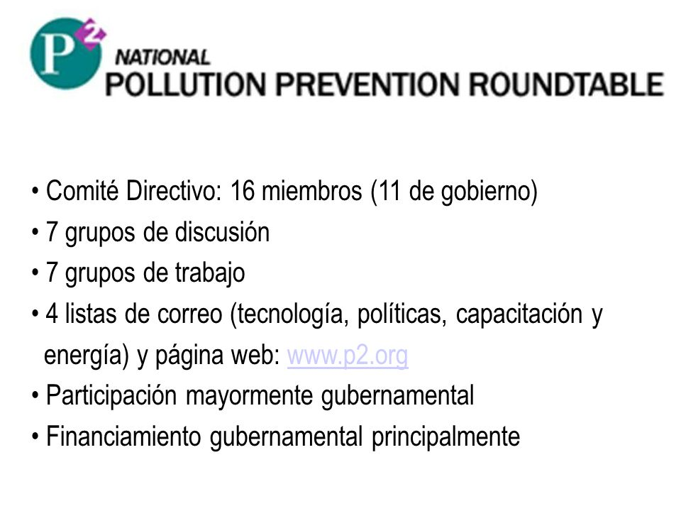 Comité Directivo: 16 miembros (11 de gobierno)