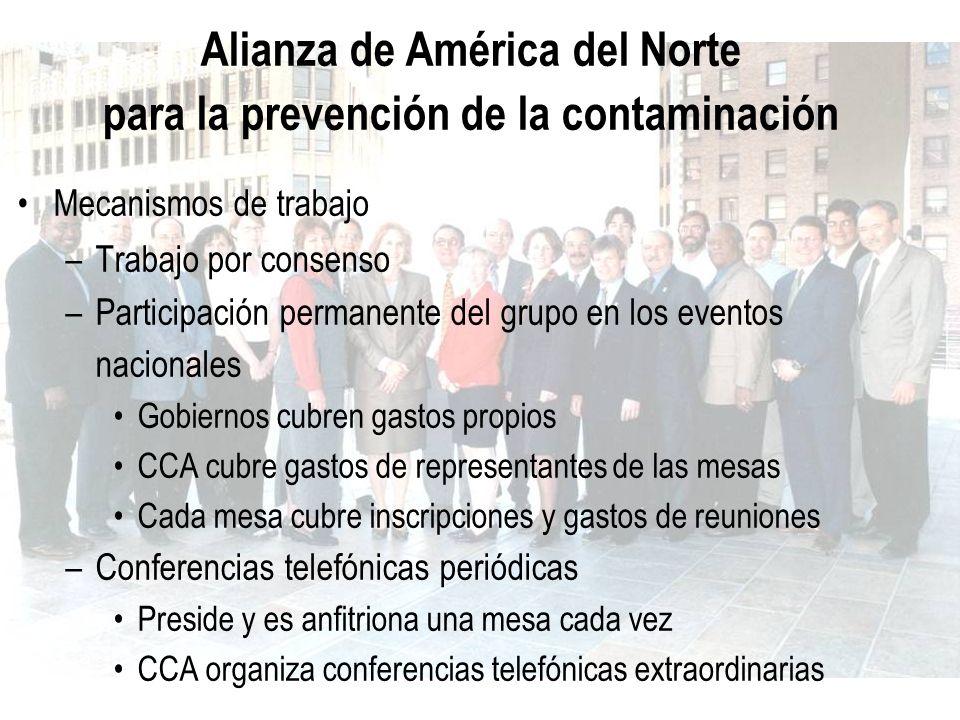 Alianza de América del Norte para la prevención de la contaminación