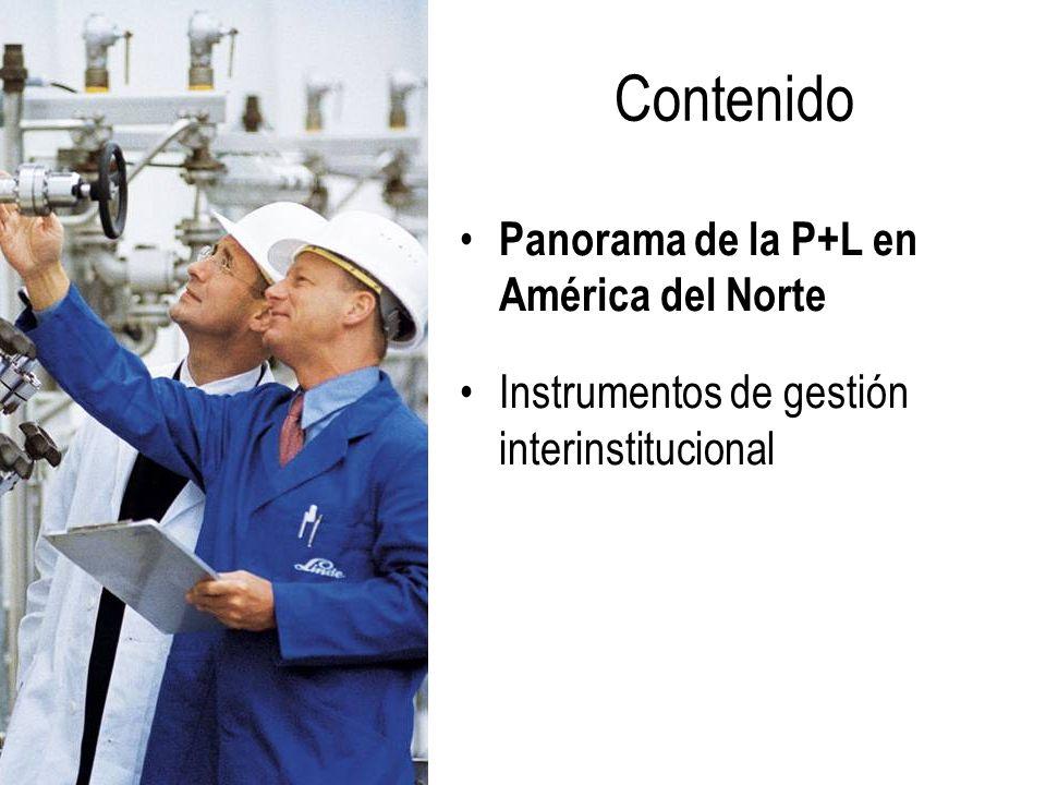 Contenido Panorama de la P+L en América del Norte