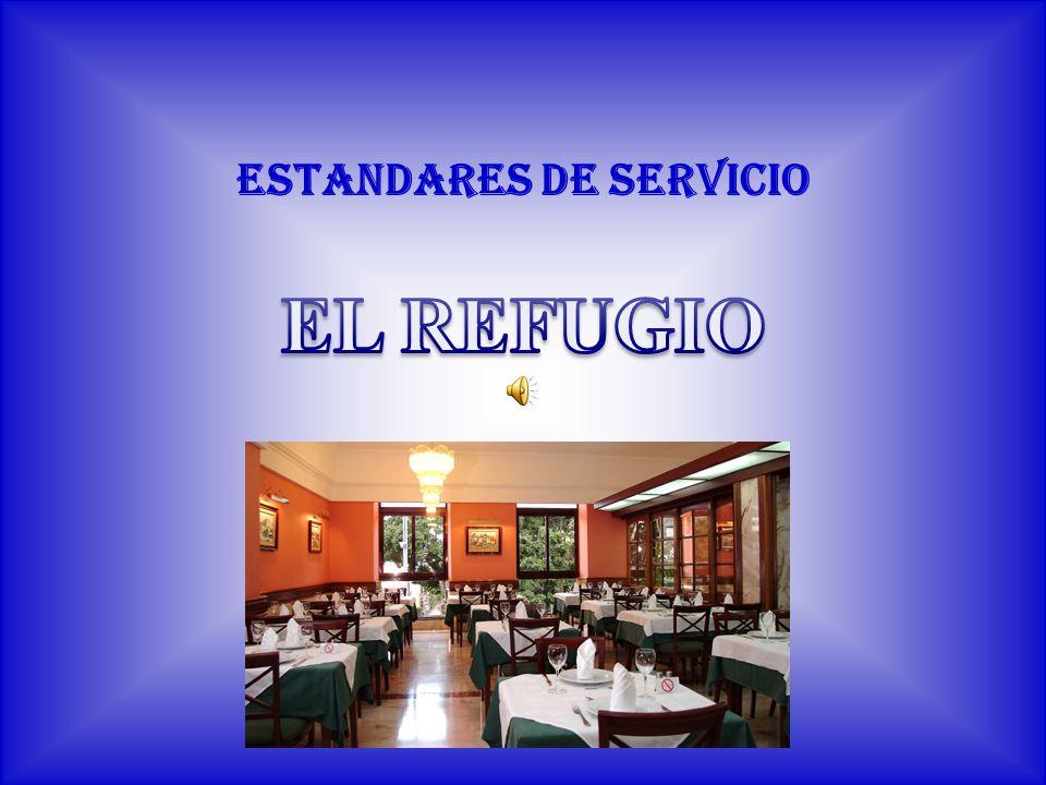 ESTANDARES DE SERVICIO