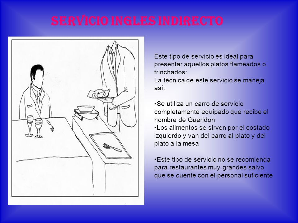 SERVICIO INGLES INDIRECTO