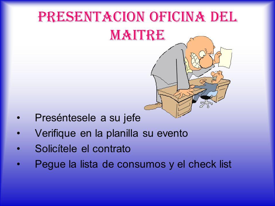 PRESENTACION OFICINA DEL MAITRE