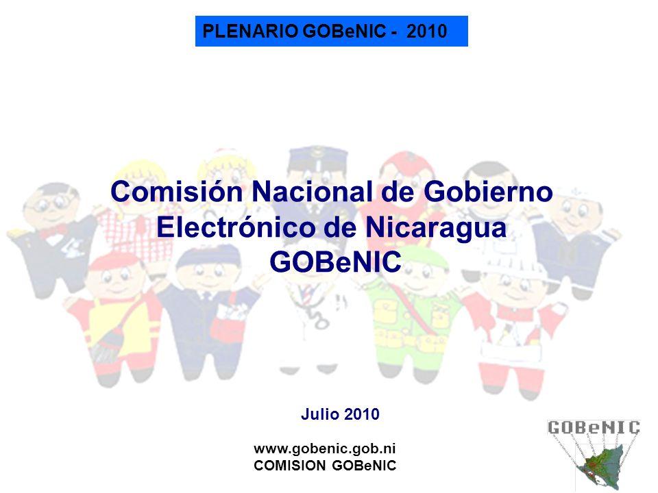 Comisión Nacional de Gobierno Electrónico de Nicaragua