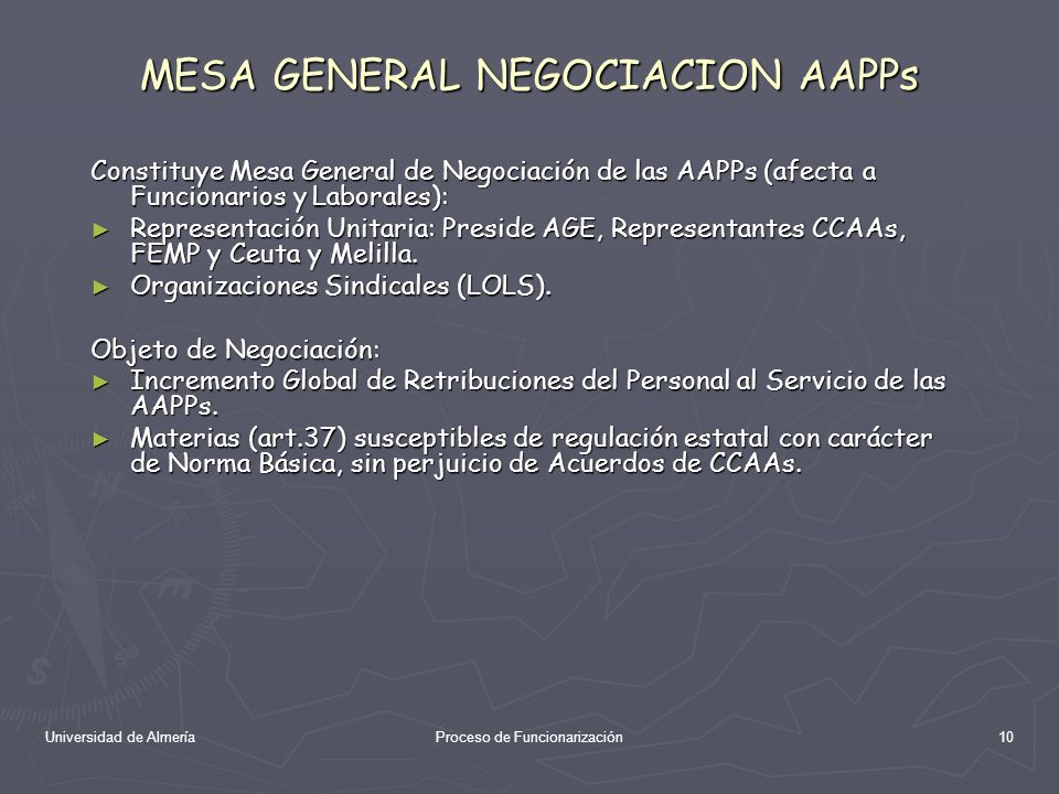 MESA GENERAL NEGOCIACION AAPPs