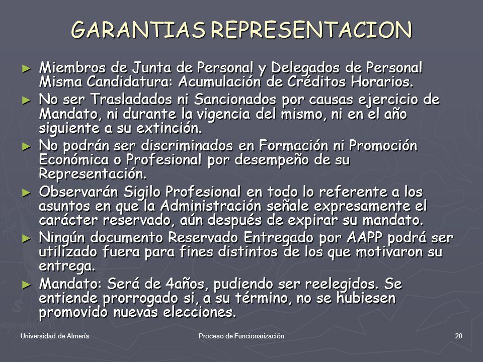 GARANTIAS REPRESENTACION