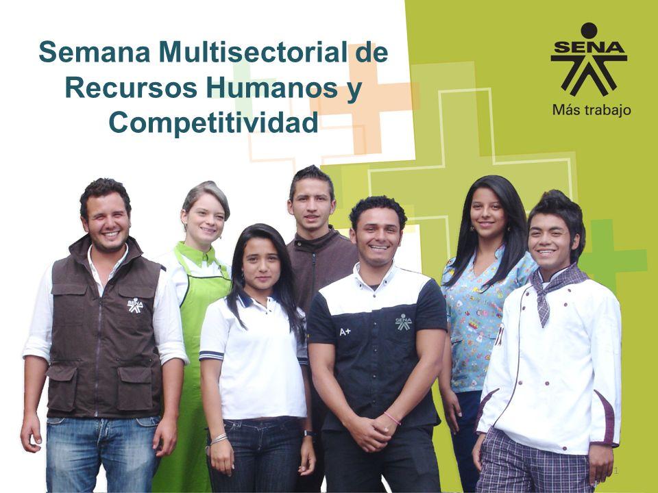 Semana Multisectorial de Recursos Humanos y Competitividad
