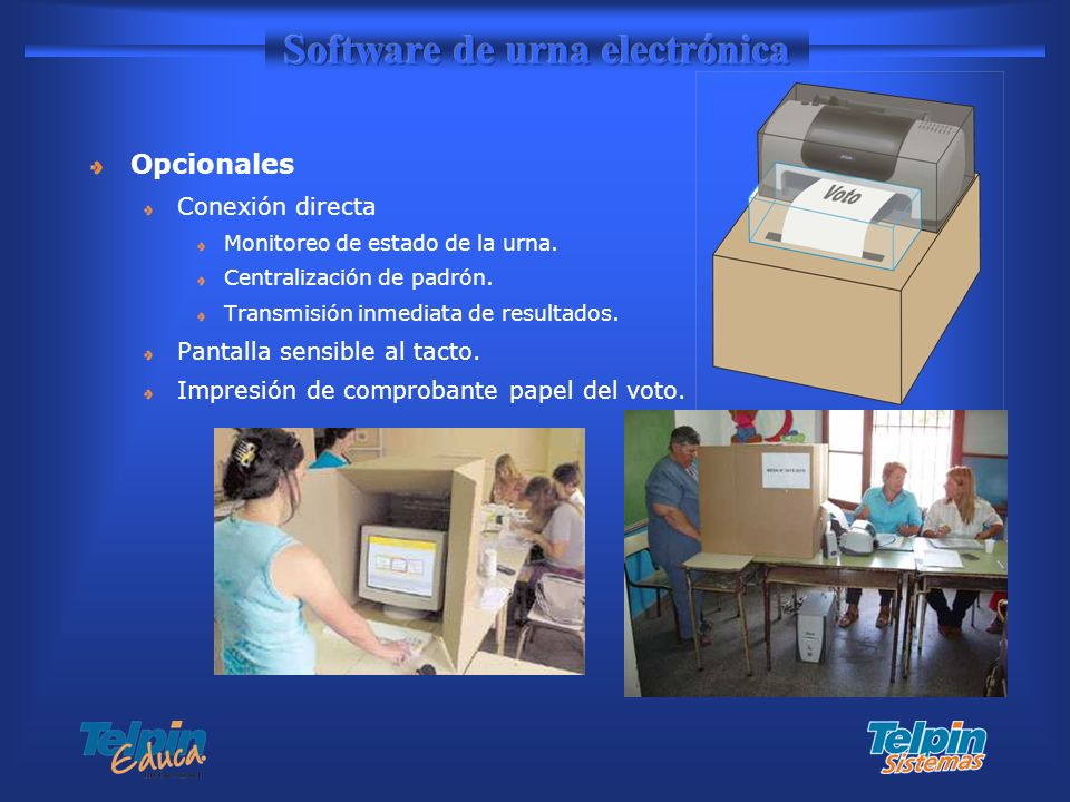 Software de urna electrónica