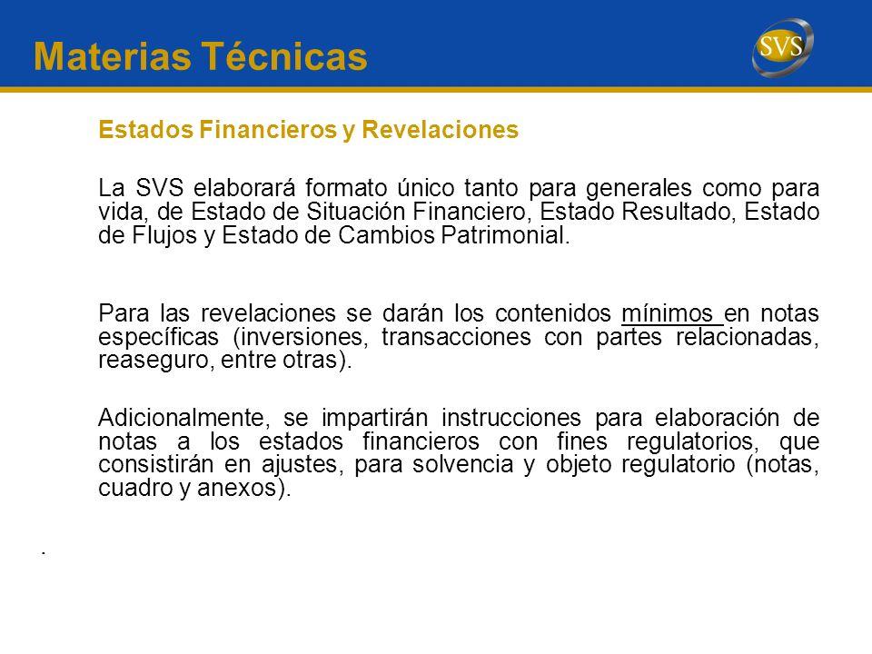 Materias Técnicas Estados Financieros y Revelaciones