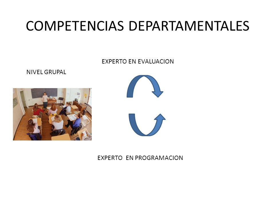 COMPETENCIAS DEPARTAMENTALES