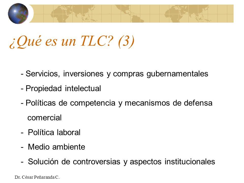 ¿Qué es un TLC (3) - Servicios, inversiones y compras gubernamentales