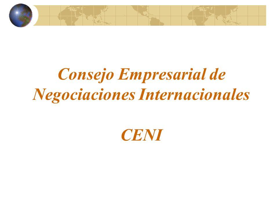 Consejo Empresarial de Negociaciones Internacionales CENI