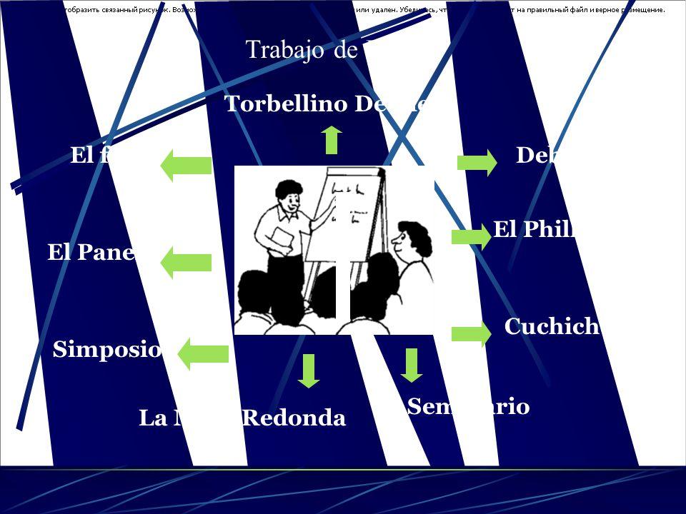 Trabajo de Equipo Torbellino De Ideas El foro Debate El Phillips 66