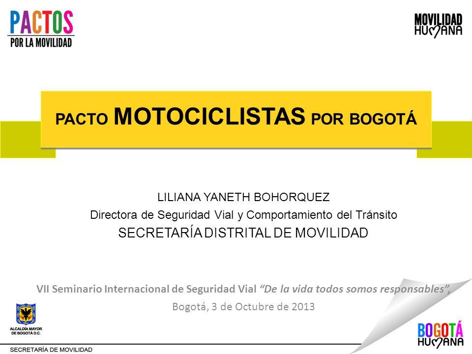 PACTO MOTOCICLISTAS POR BOGOTÁ