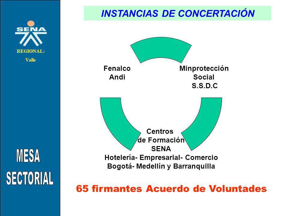 INSTANCIAS DE CONCERTACIÓN