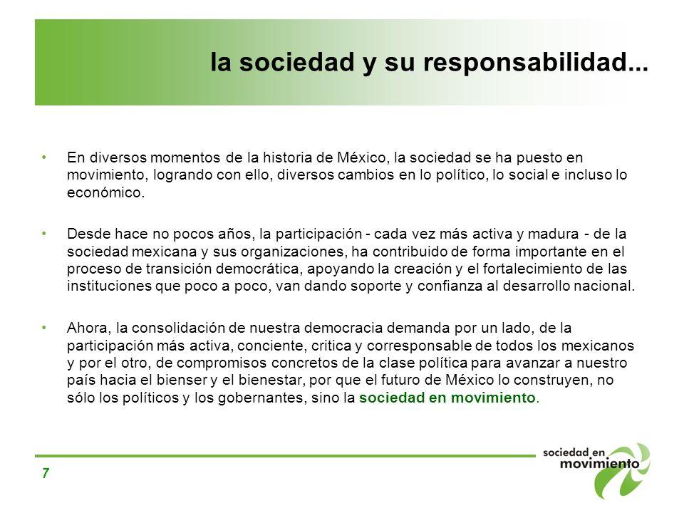 la sociedad y su responsabilidad...