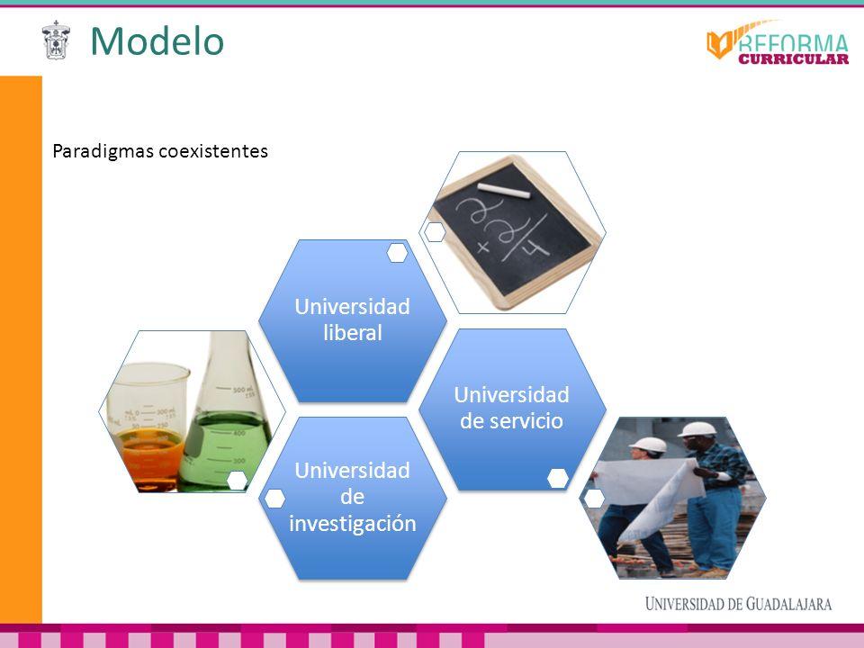 Modelo Universidad liberal Universidad de servicio