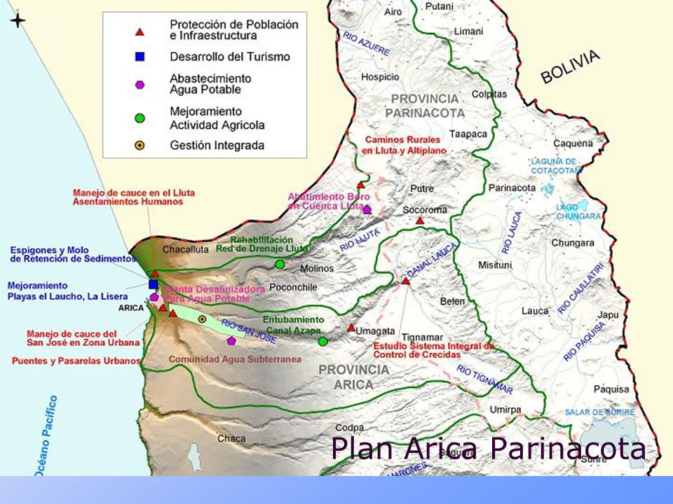 Plan Arica Parinacota