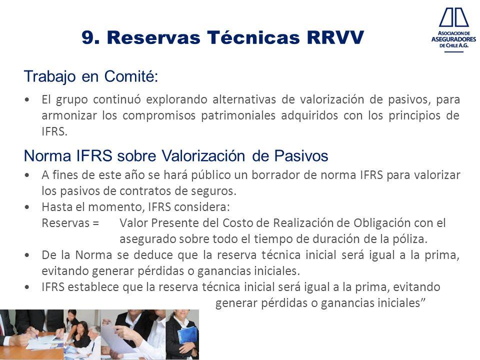 9. Reservas Técnicas RRVV