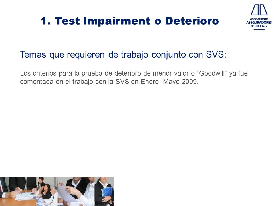 1. Test Impairment o Deterioro