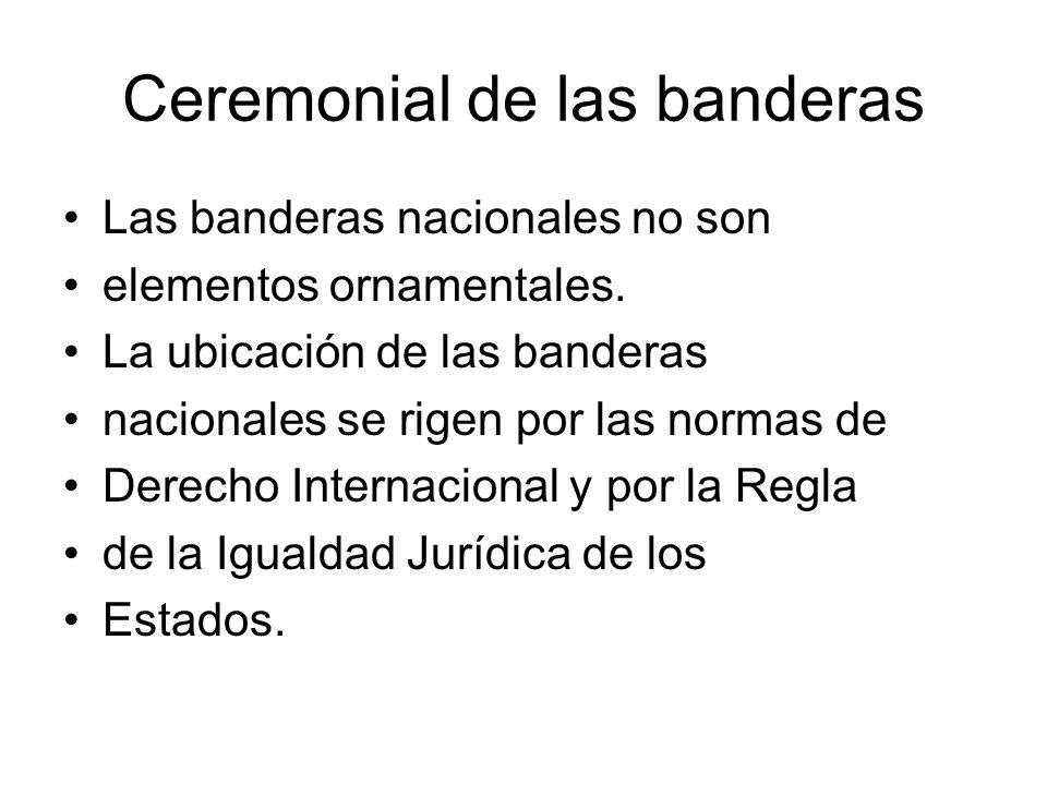 Ceremonial de las banderas