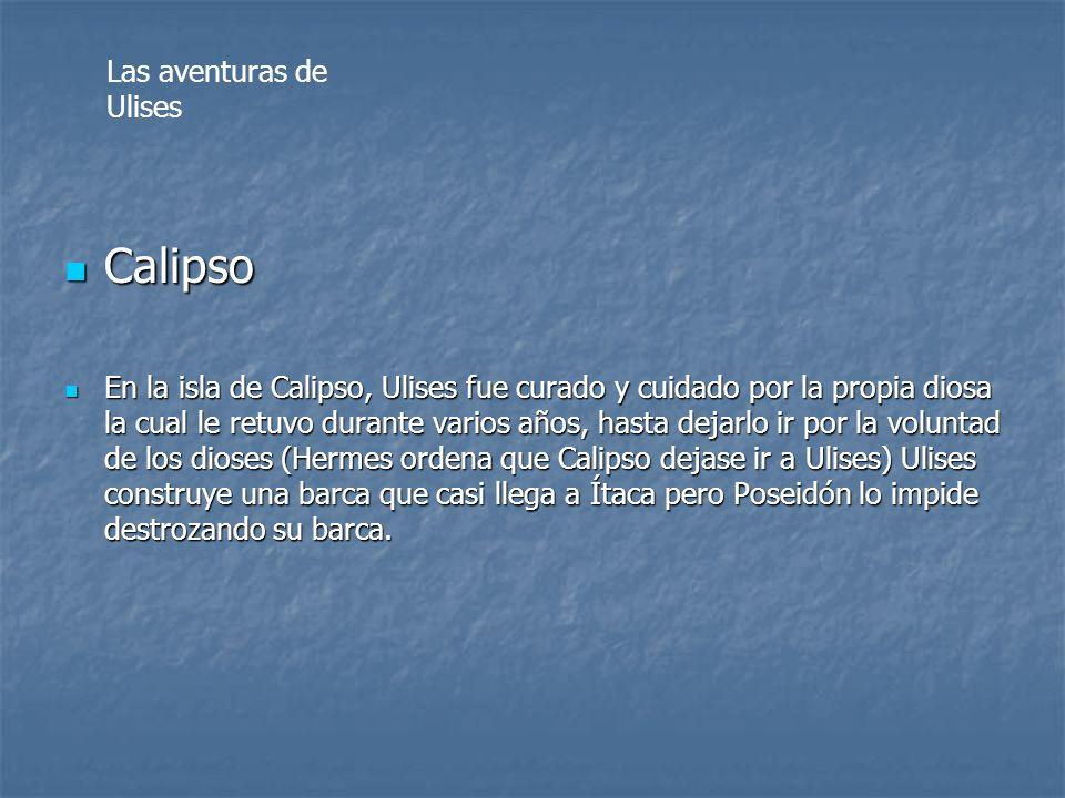 Calipso Las aventuras de Ulises