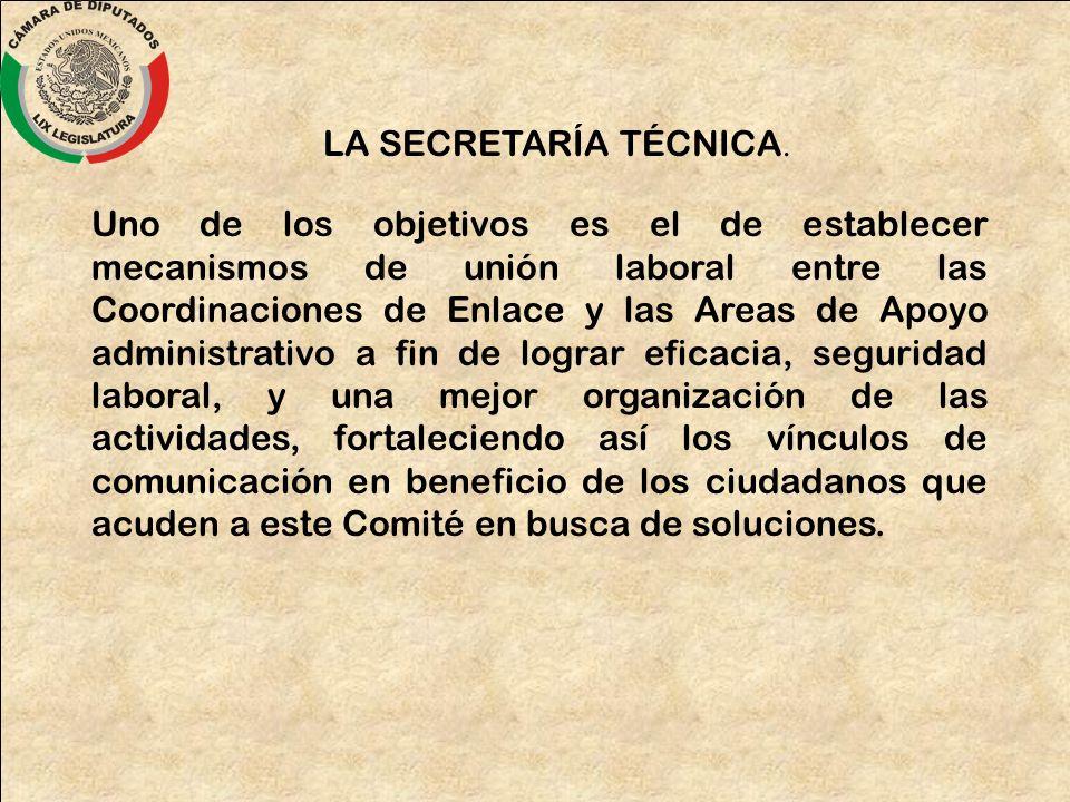 LA SECRETARÍA TÉCNICA.