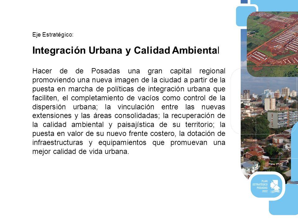 Integración Urbana y Calidad Ambiental.