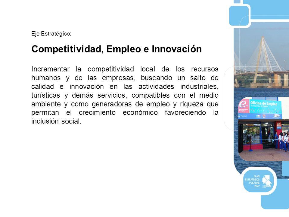 Competitividad, Empleo e Innovación