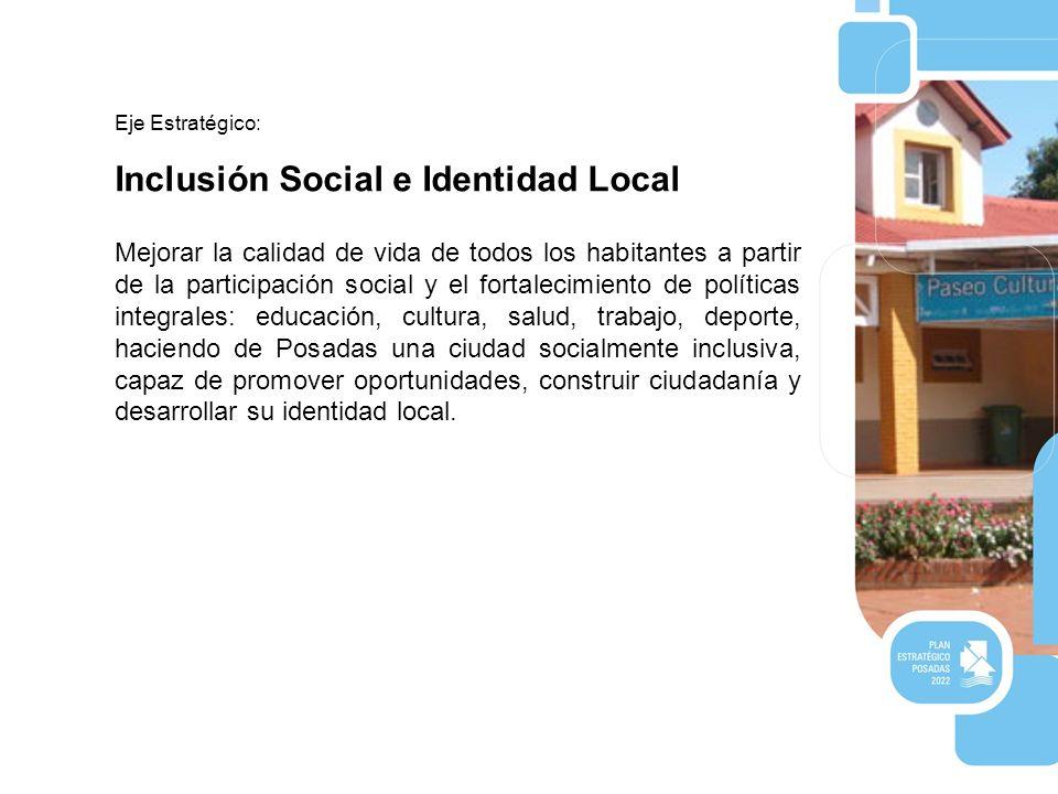 Inclusión Social e Identidad Local