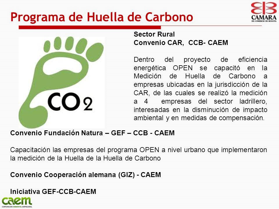 Programa de Huella de Carbono