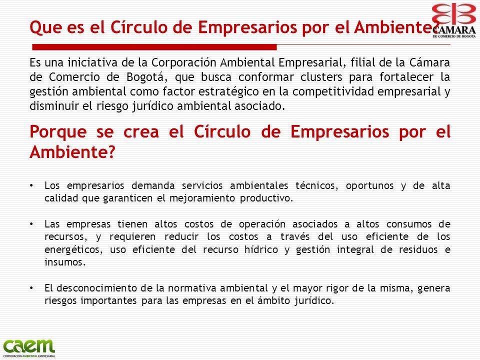 Que es el Círculo de Empresarios por el Ambiente