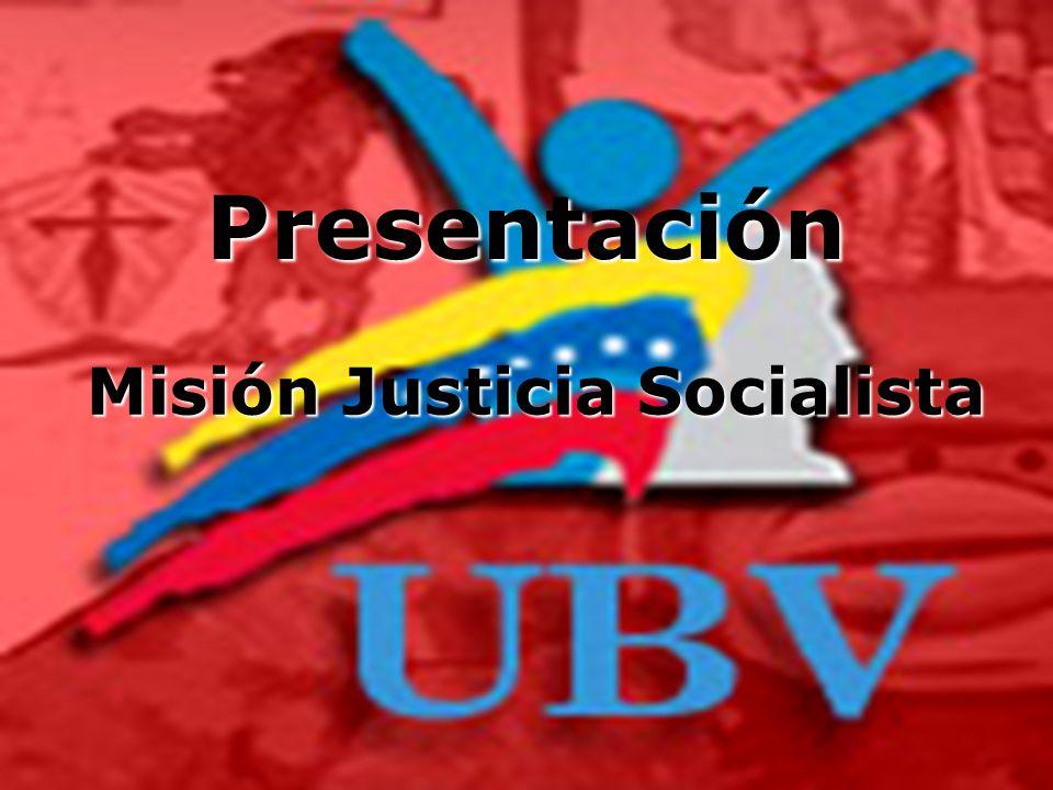 Misión Justicia Socialista