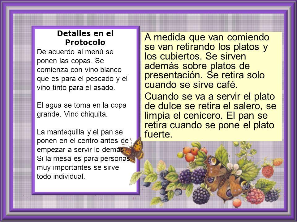 Detalles en el Protocolo