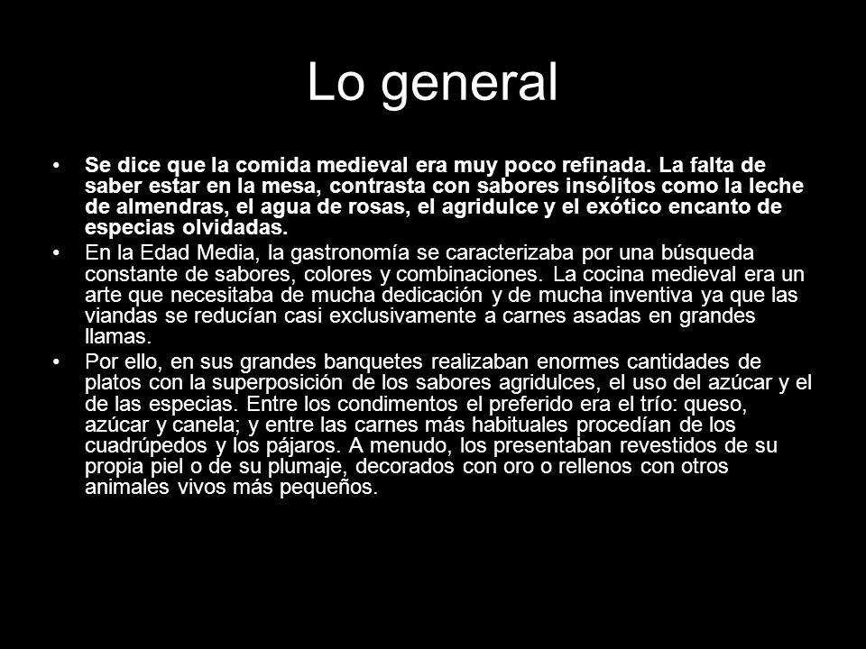 Lo general