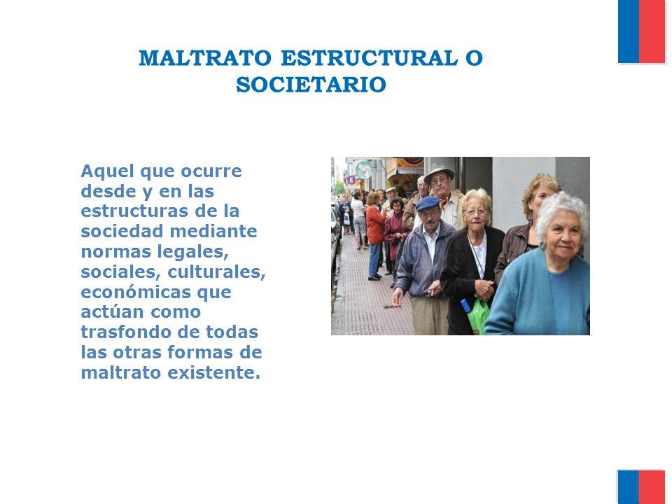 MALTRATO ESTRUCTURAL O SOCIETARIO