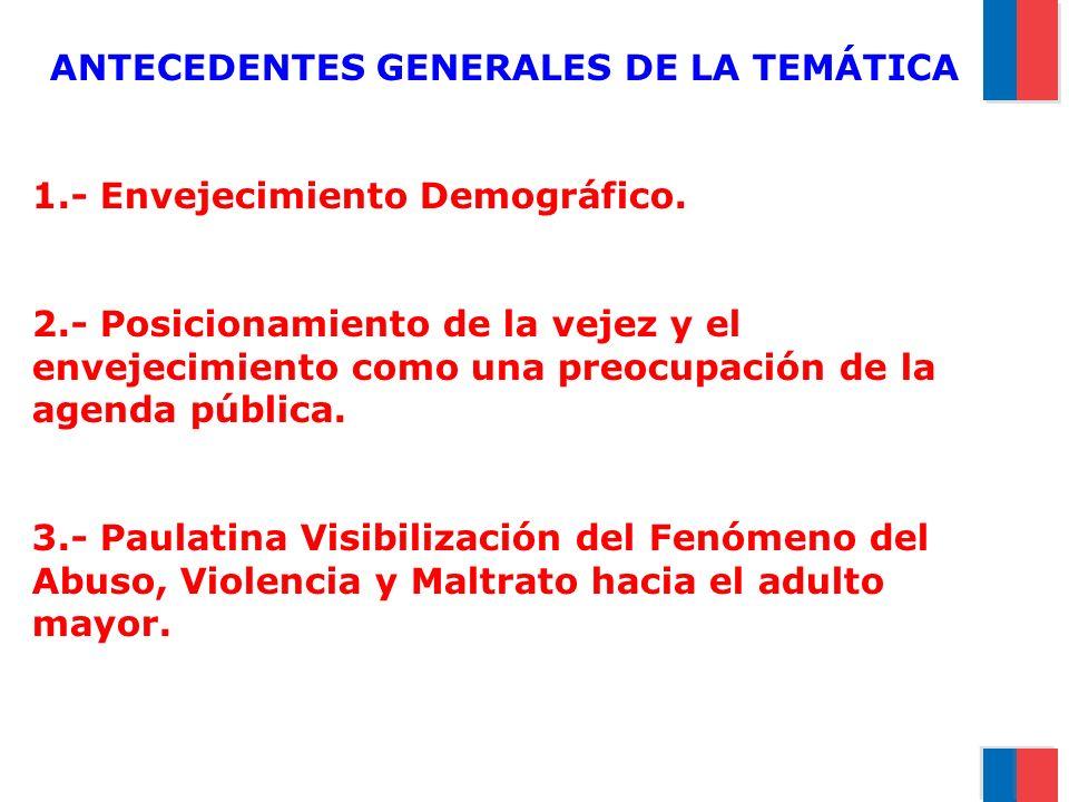 ANTECEDENTES GENERALES DE LA TEMÁTICA