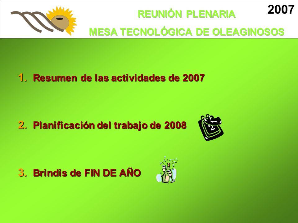 2007 Resumen de las actividades de 2007