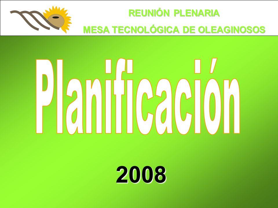 Planificación 2008