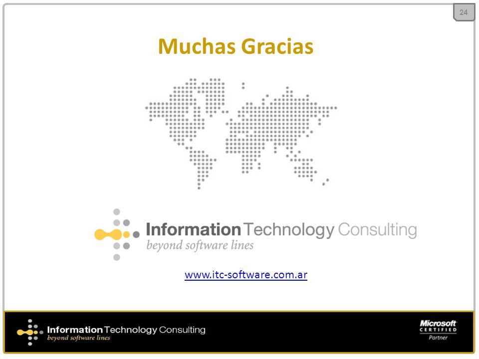 24 Muchas Gracias www.itc-software.com.ar