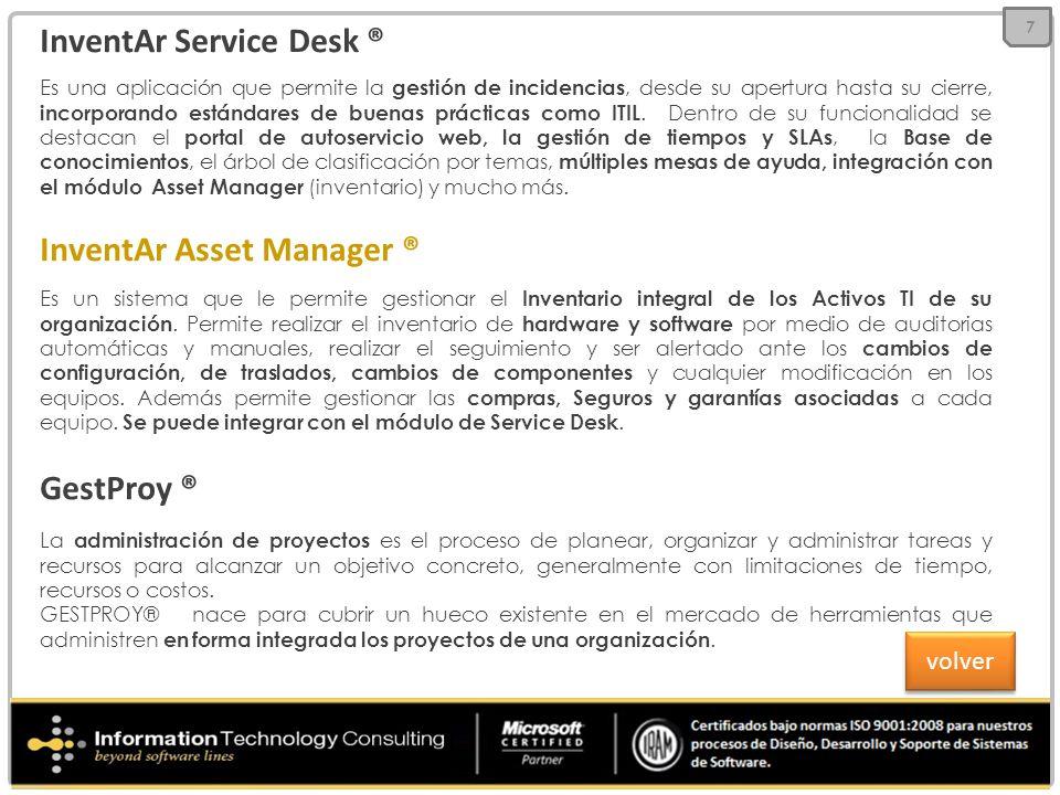 InventAr Service Desk ®