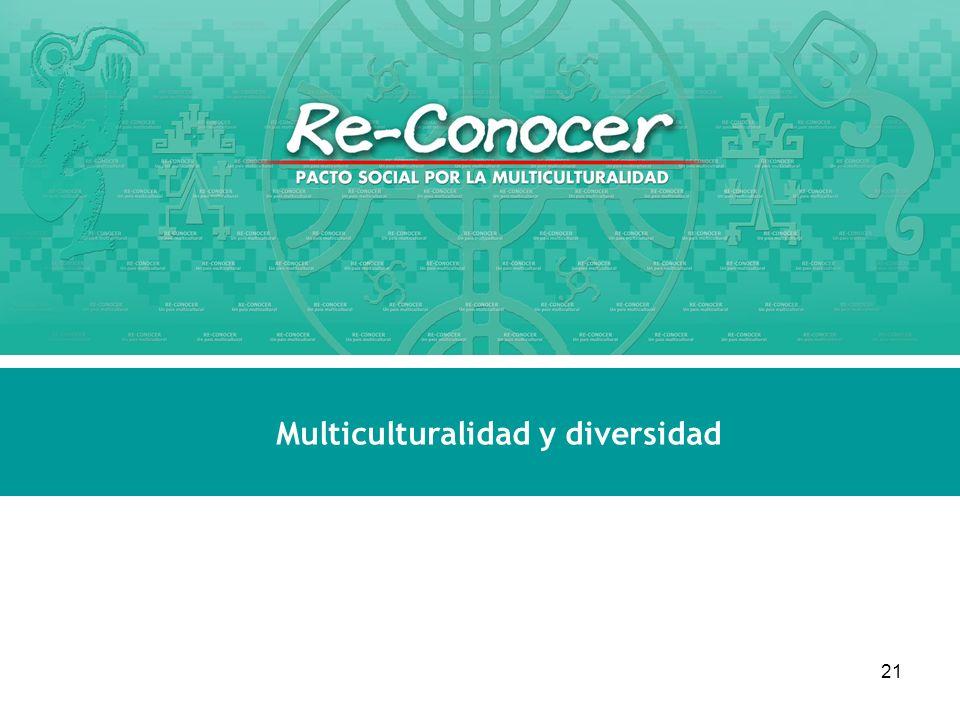 Multiculturalidad y diversidad