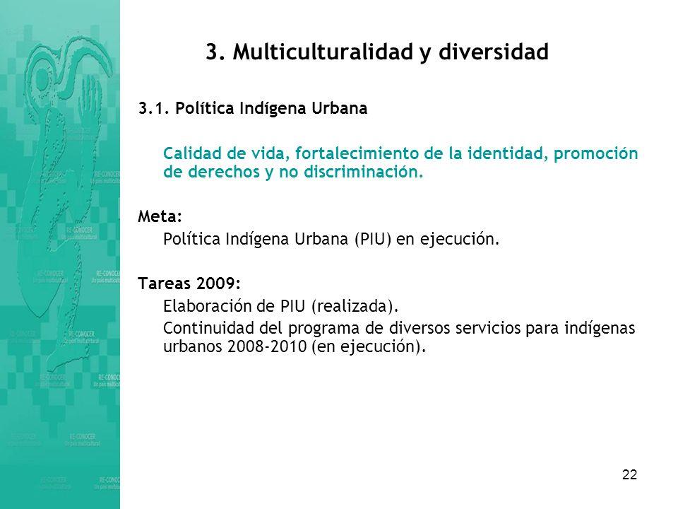 3. Multiculturalidad y diversidad