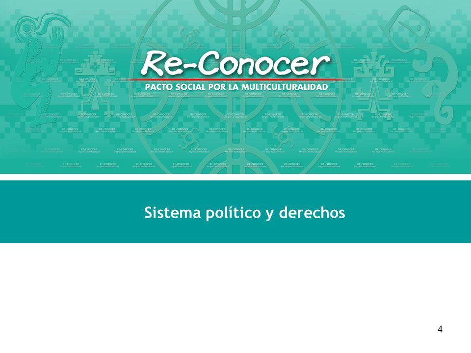 Sistema político y derechos