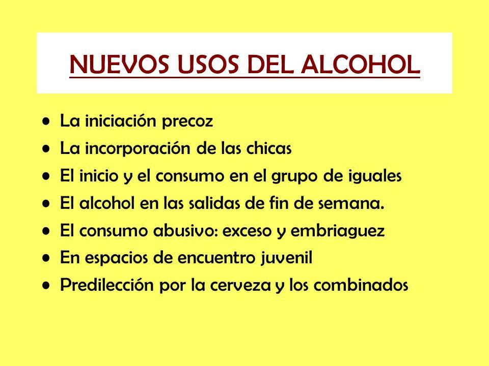 NUEVOS USOS DEL ALCOHOL