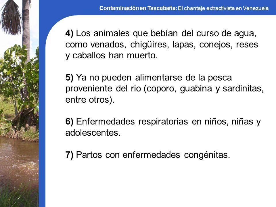 6) Enfermedades respiratorias en niños, niñas y adolescentes.