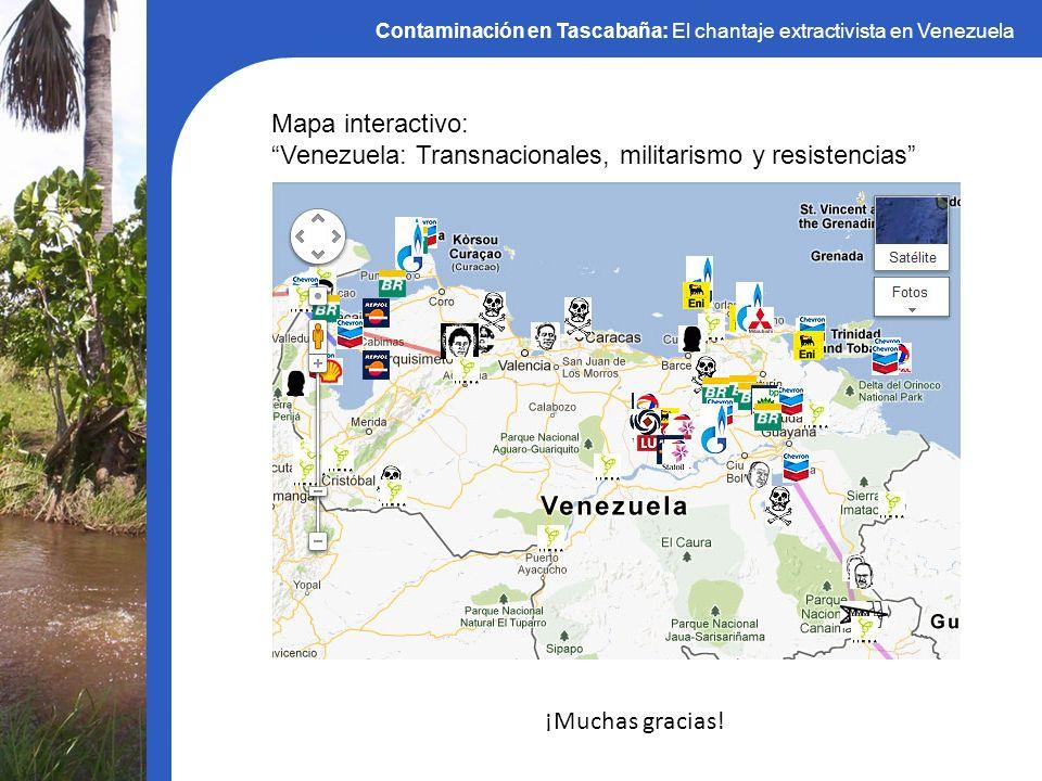 Contaminación en Tascabaña: El chantaje extractivista en Venezuela