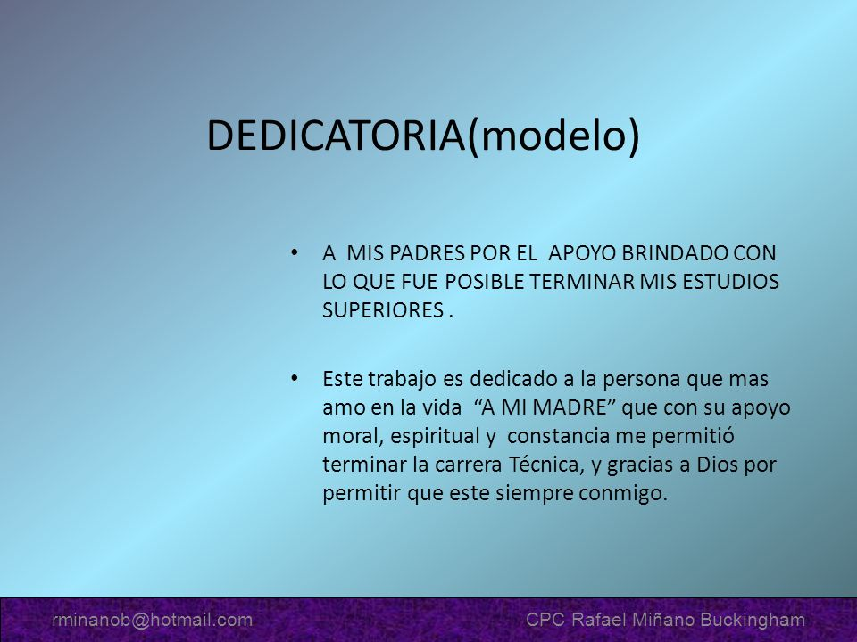 rminanob@hotmail.com CPC Rafael Miñano Buckingham